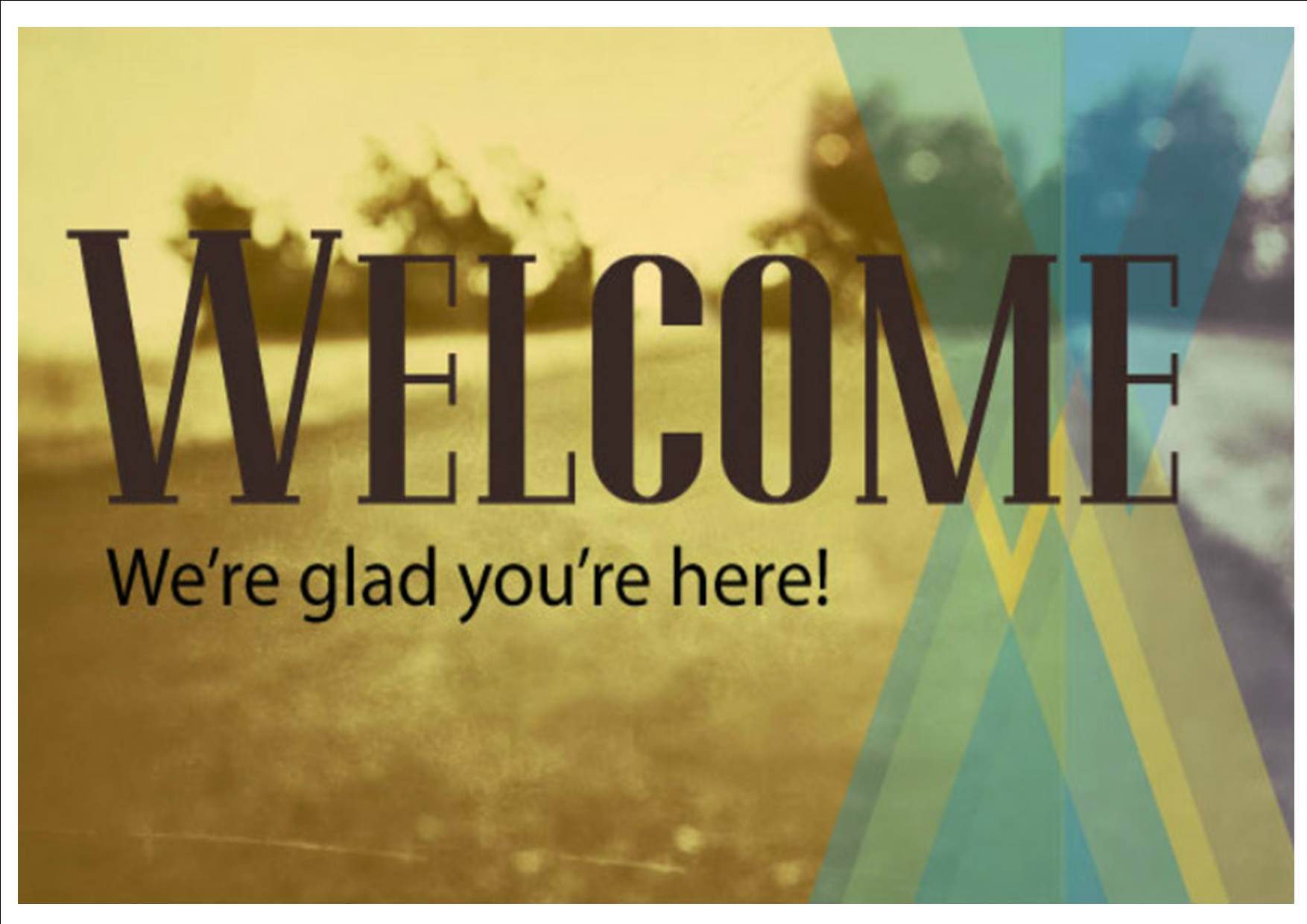 Church Welcome Slides | HD Walls | Find Wallpapers